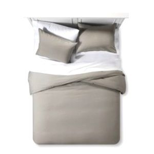 Project 62 3 Pc Linen Duvet Cover King Size New